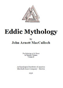 Cover of John Arnott MacCulloch's Book Eddic Mythology