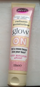Along Came Betty moisturiser tube