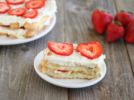 Easy Strawberry Tiramisu