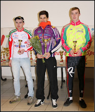 Photo: podium des 17/19 ans