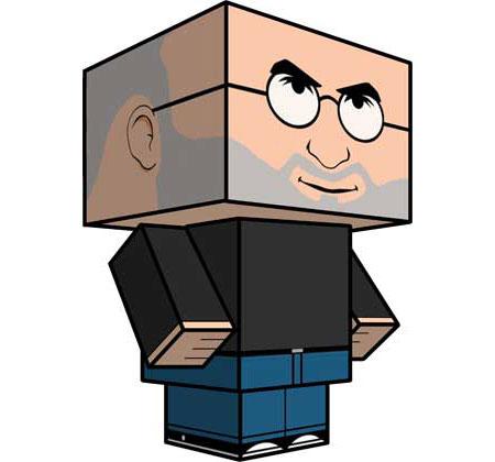 Steve Jobs Papercraft