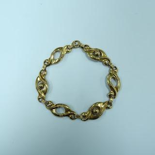 10 K Gold Pr. St. Co. Bracelet