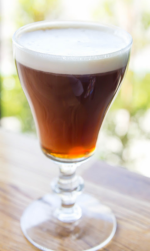 photo of an irish coffee