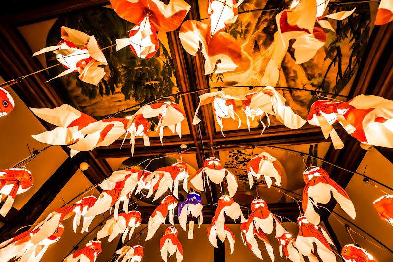 目黒雅叙園 和のあかり百段階段 柳井 金魚 ちょうちん 写真1