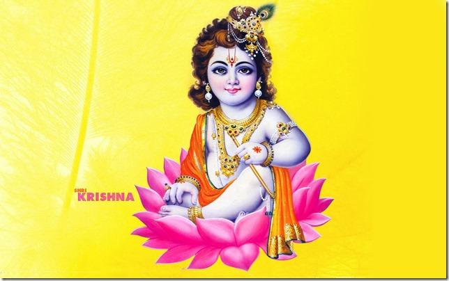 Dios hindú Krishna Janmashtami