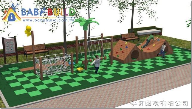桃園市楊明國小 105年度幼兒園戶外遊戲器具採購