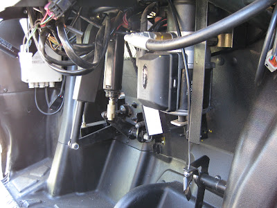 Electric Actuator on vehicle