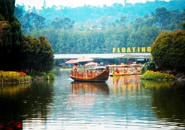 situ umar floating market bandung