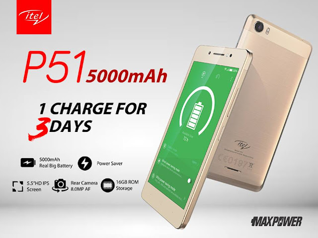 itel P51 Full Specifications And Price In Nigeria 1