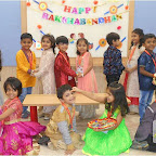 Raksha Bandhan Celebration of Sr. Kg. at Witty World, Chikoowadi (2017-18)