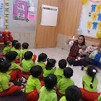 BABY VISIT FOR NURSERY SECTION (2017-18) AT WITTY WORLD, BANGUR NAGAR