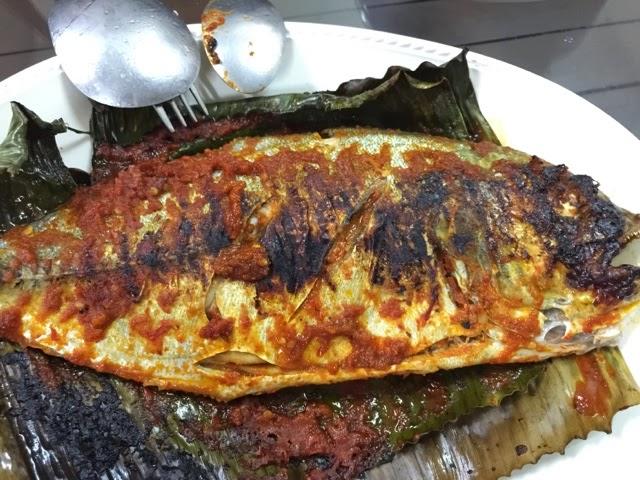 Resepi Mudah Ikan Bakar Kerabu Epal