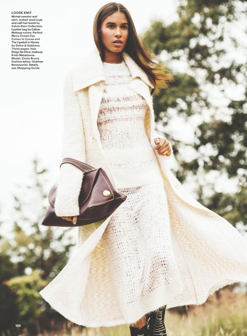 EDITORIAL: Cindy Bruna By Sebastian Kim For Allure November 2014