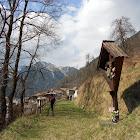 25 marzo 2012 Cammino Jacopeo d'Anaunia - La manutenzione