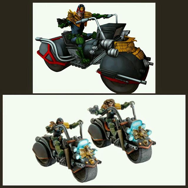 Moto Judge Dredd