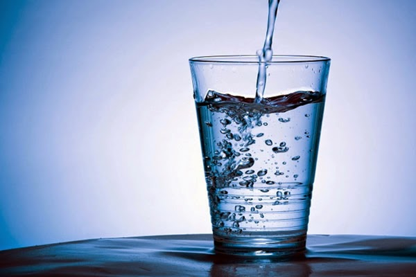 Drink more water, it's good for your health