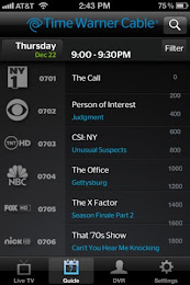 TWC TV App Screenshot