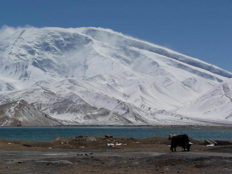 XINJIANG. Karakoram Highway, lune des plus haute route au monde, en passant a 4400 m - P1280522.JPG