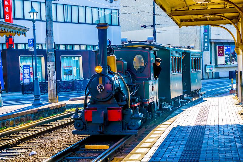 伊予鉄道 坊っちゃん列車1
