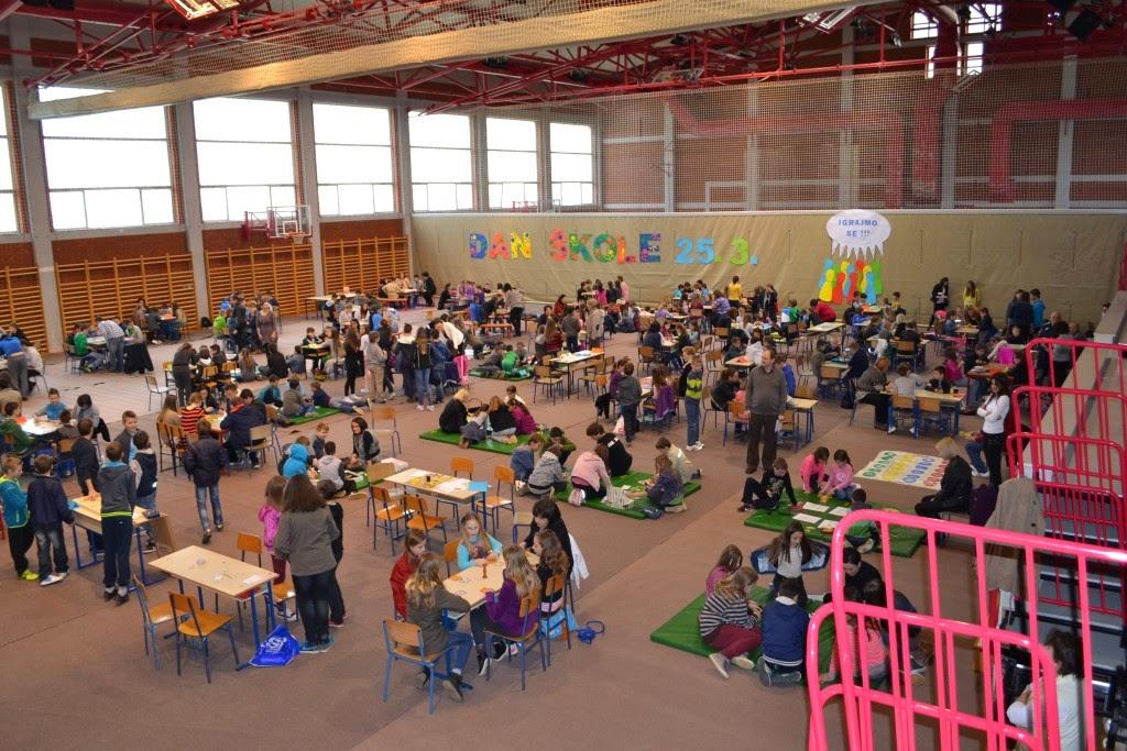 II. OŠ Vrbovec: Dan škole uz društvene igre
