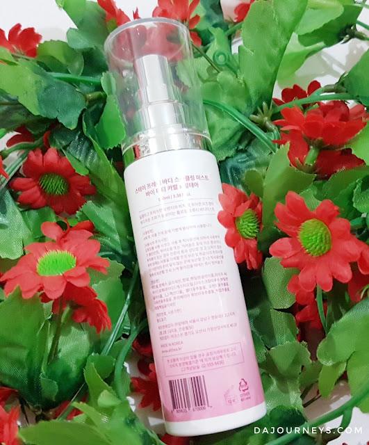 Review Althea x Titi Kamal Stay Fresh Body Sparkling Mist