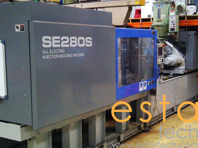 Sumitomo SE280S-C1250 (1999) Electric Injection Moulding Machine