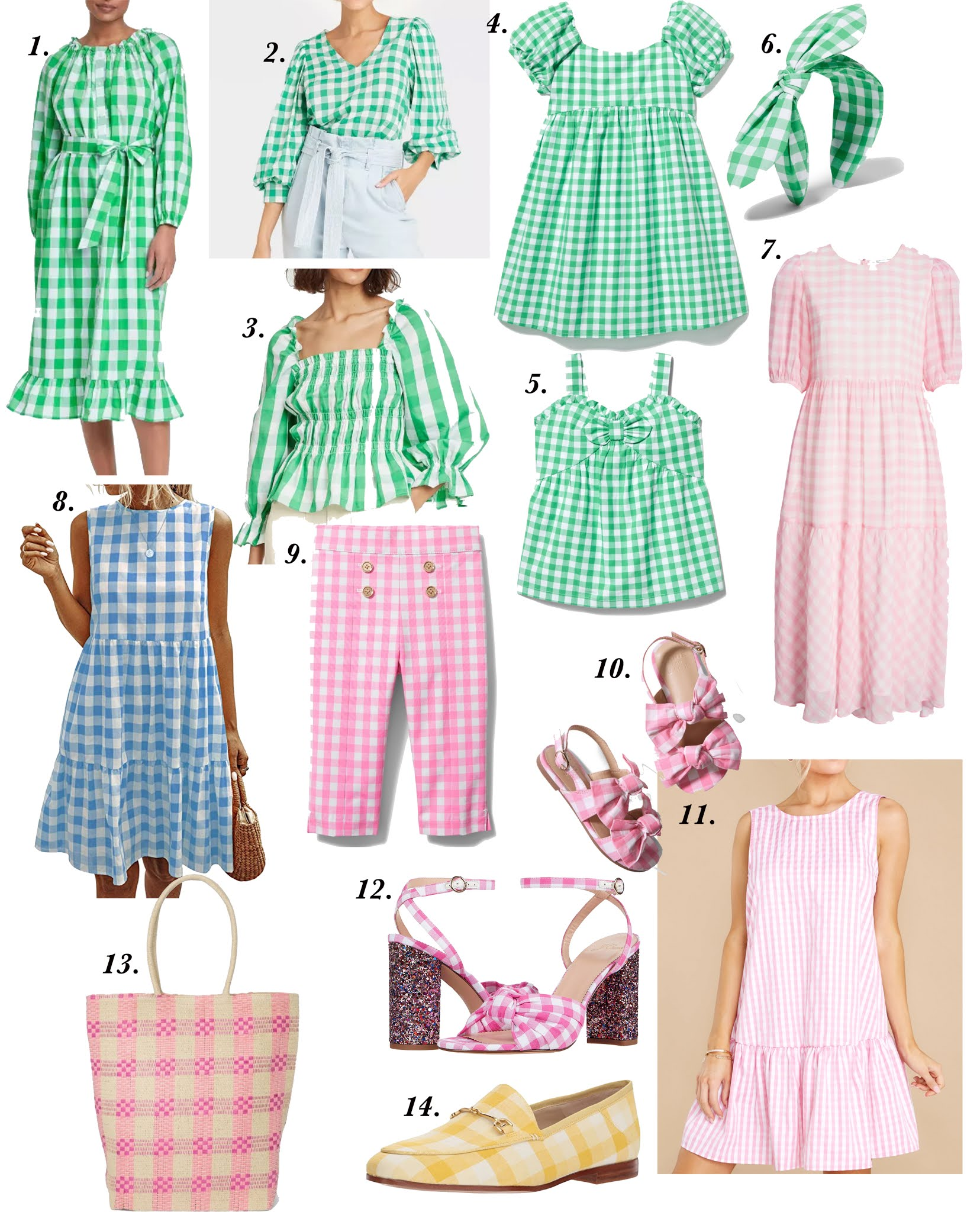 2021 Spring fashion trends. Gingham pieces for women and kids. Target style. J.Crew. Something Delightful Blog. New arrivals for spring.  - Something Delightful Blog #targetstyle #springstyle #somethingdelightfulblog #gingham