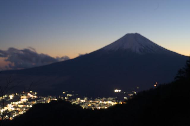 ピンボケ富士山