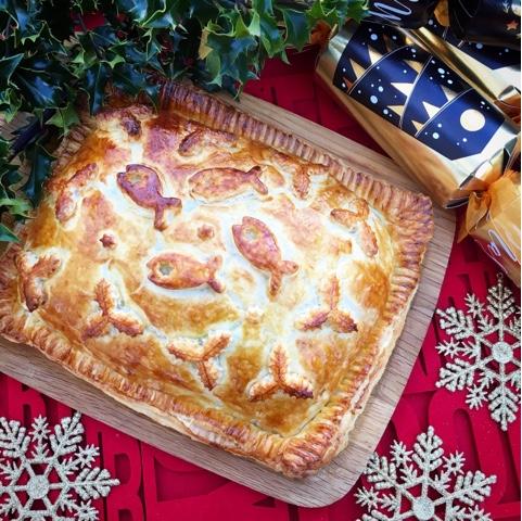 Salmon Coulibiac - an Unconventional Christmas Dinner