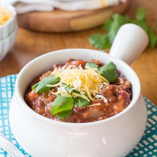 Three Alarm Vegetarian Quinoa Chili