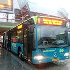 Mercedes Citaro van Conexxion bus 9154 lijn 1 naar Haven centrum via de marken