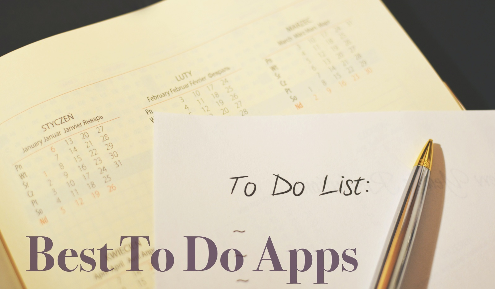 Best To Do Apps for iPhone, iPad & Apple Watch