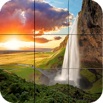 Puzzle - Amazing waterfalls Icon