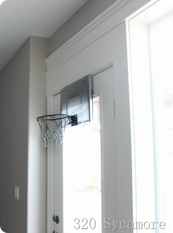 over the door basketball hoop