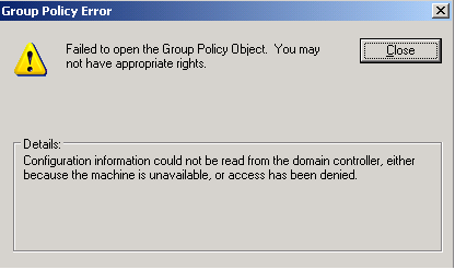 Terry L@u's blog: Group Policy (Event ID 1030 and 1058) and