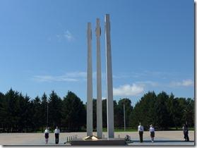 komsomolsk 07 garde honneur memorial grande guerre