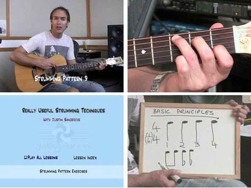 Justin Sandercoe - Really Useful Strumming Techniques 1