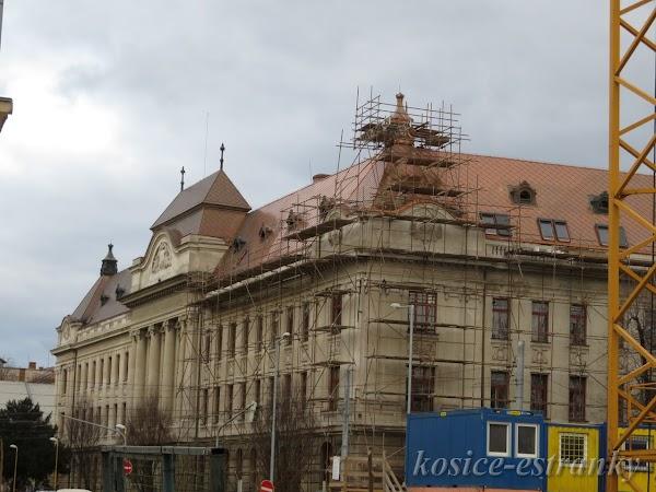 Rekonštrukcia budovy železničného riaditeľstva