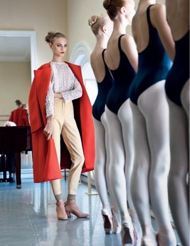 Fashion + Ballet = my favorite Flavor :)
