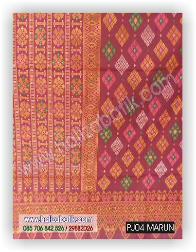 PJ04%2BMARUN Batik Modern Online, Motif Batik Indonesia, Grosir Kain Batik, PJ04 MARUN