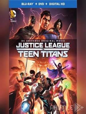 Phim Justice League Vs Teen Titans - Justice League Vs Teen Titans 2016 (2016)