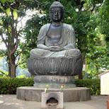big buddha in Asakusa, Tokyo, Japan