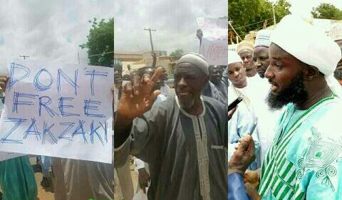"""BREAKING: """"Don't Free El-Zakzakky"""" - protest rocks Abuja to stop release of Shiites leader [photos]"""