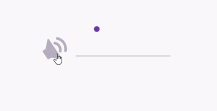 El reto para diseñar la peor interfaz para controlar el volumen del sonido