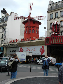 I'm sure a caption is unnecessary.  Le Moulin Rouge, of course (The Red Windmill)