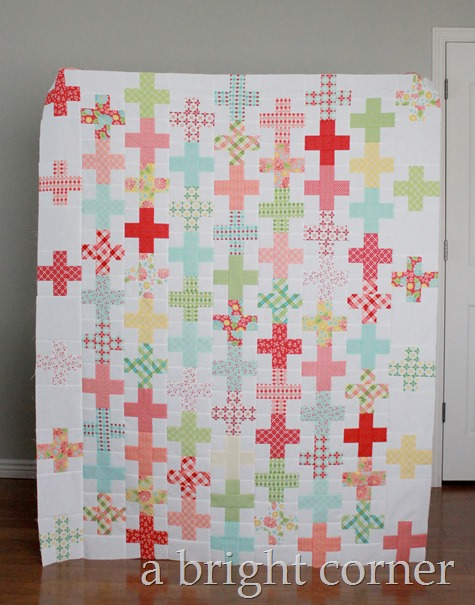 Flirty quilt pattern by April Rosenthal