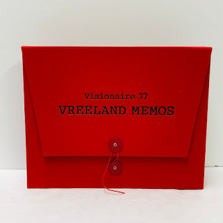 Visionaire 37: Vreeland Memos