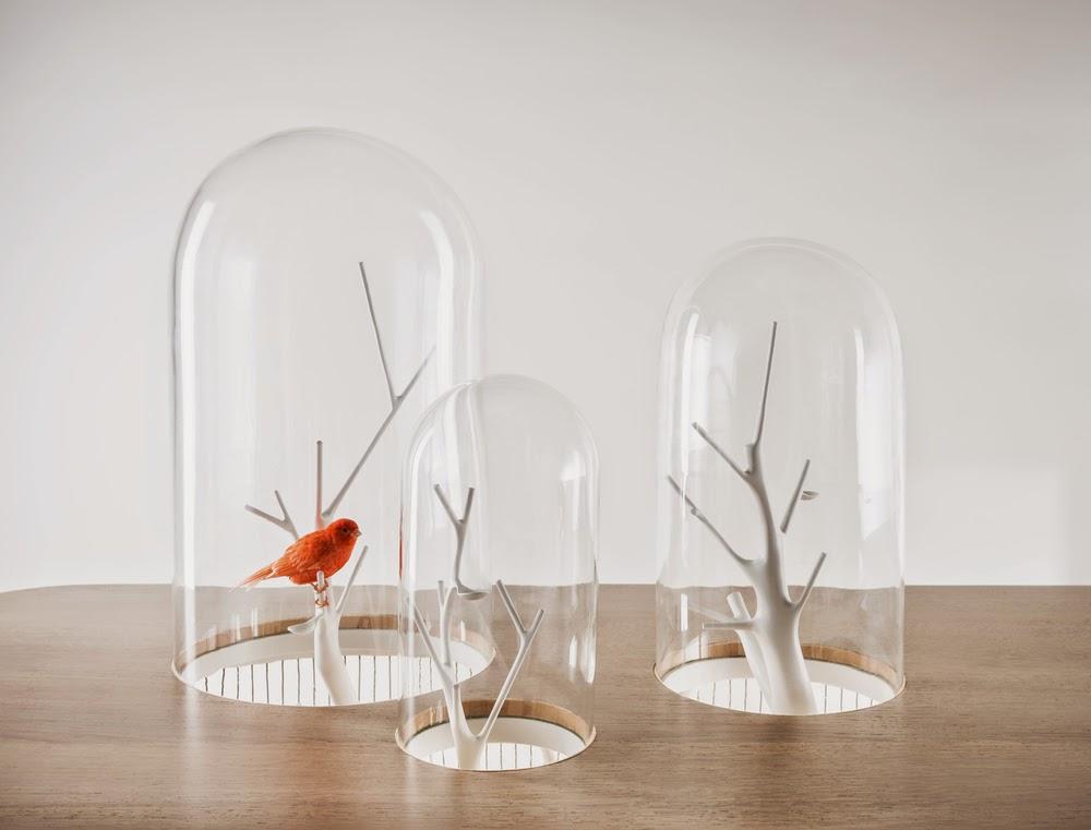 *景觀鳥籠書桌:法國藝術家Grégroire de Laforrest愜意的結合 6