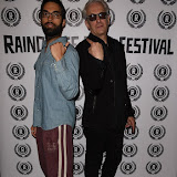 OIC - ENTSIMAGES.COM - James Floyd and Elliot Grove at the Opening of Raindance Film Festival  in London on the 24th August 2015. Photo Mobis Photos/OIC 0203 174 1069