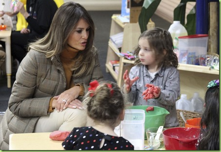 melania play doh